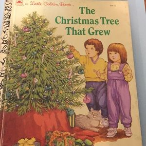 Vintage Little Golden Book, The Christmas Tree ...